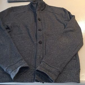 banana republic zip up cardigan sweater small